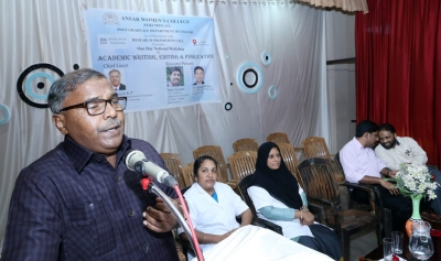 NATIONAL WORKSHOP ON ACADEMIC WRITING, EDITING AND PUBLICATION