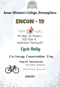 ENCON CYCLE RALLY BROCHURE