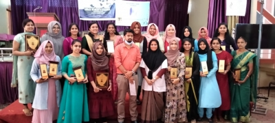Prize distribution for the proud ladies of Ansar 2019-20 batch