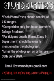 Photo Essay Competition 2020-2021 -2