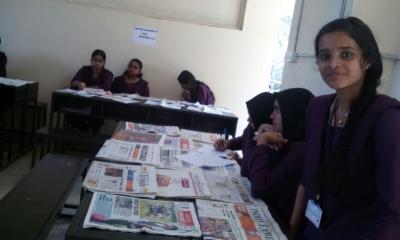 Newspaper Exhibition 2015-2016