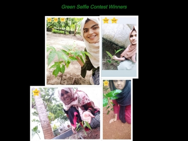 Green Selfie Contest Winners